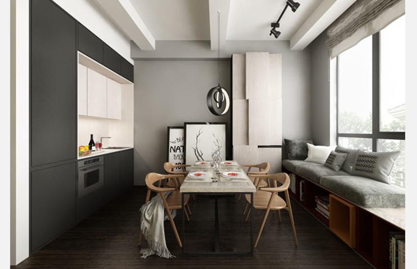 3DMAX+VR宜家北欧风公寓室内渲染表现教程
