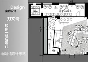 CAD-咖啡馆设计思剖析案例教程