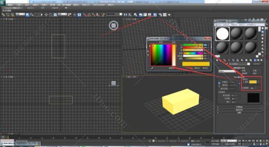3dsmax2012自发光贴图材质自发光怎么调178.jpg