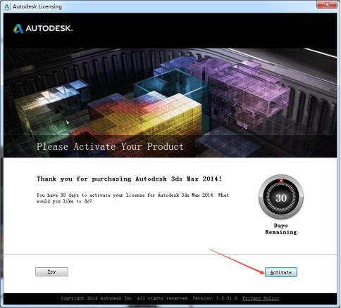 3dsmax2014软件许可证打开后提示 [软件许可证检出失败 错误20]483.jpg