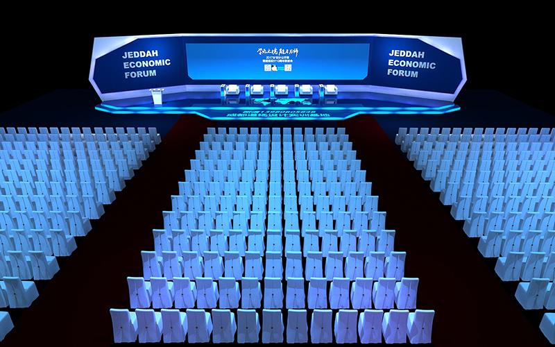 3DMAX舞台会议展示设计入门教程
