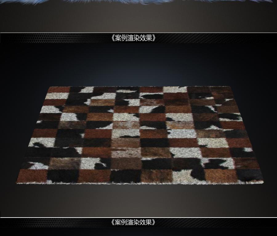 3DMax+VRay毛发地毯渲染教程【马良出品】
