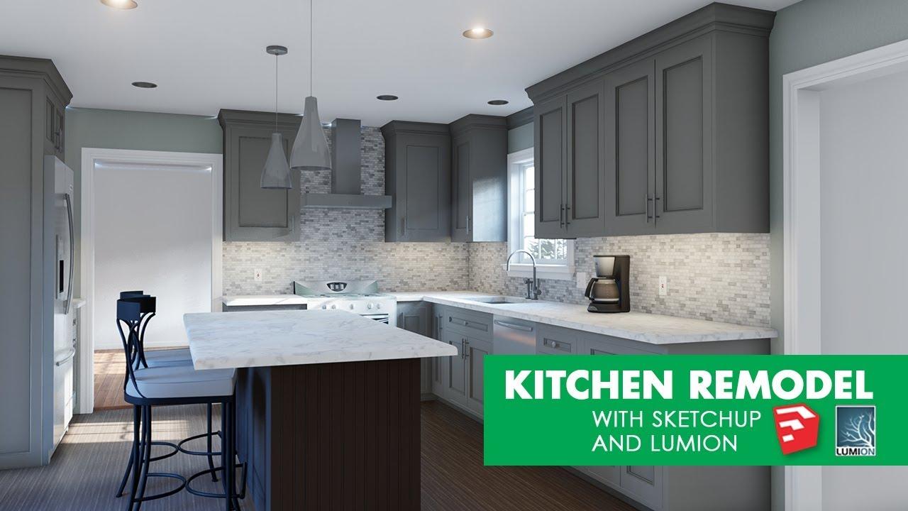 用Sketchup和Lumion改造厨房.jpg