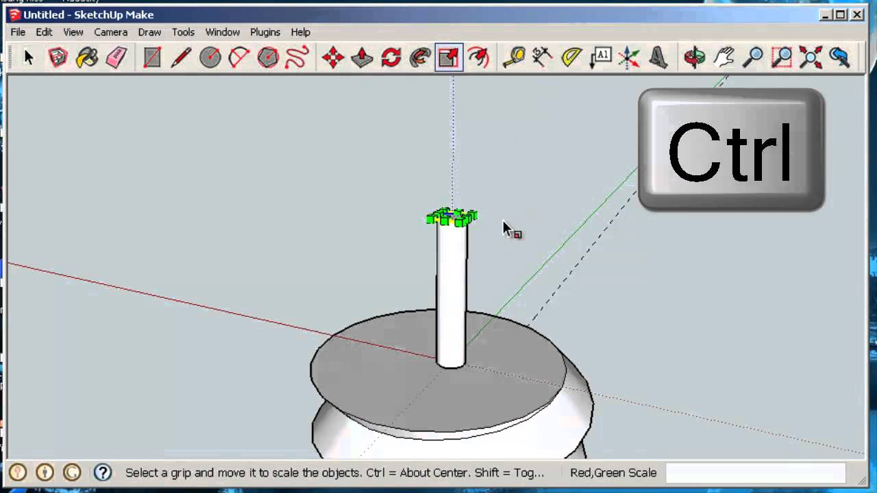 Sketchop软件使用指南绘制三维模型绘制一个螺丝.jpg
