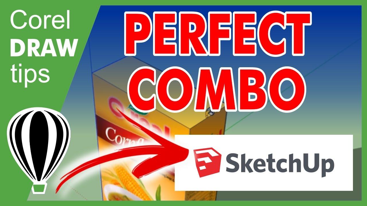 完美组合:CorelDraw和Sketchup.jpg
