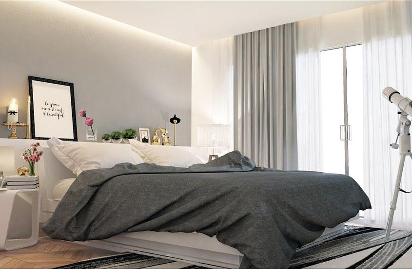如何创建卧室3DS最大Vray造型Vray照明Vray渲染设置。.jpg