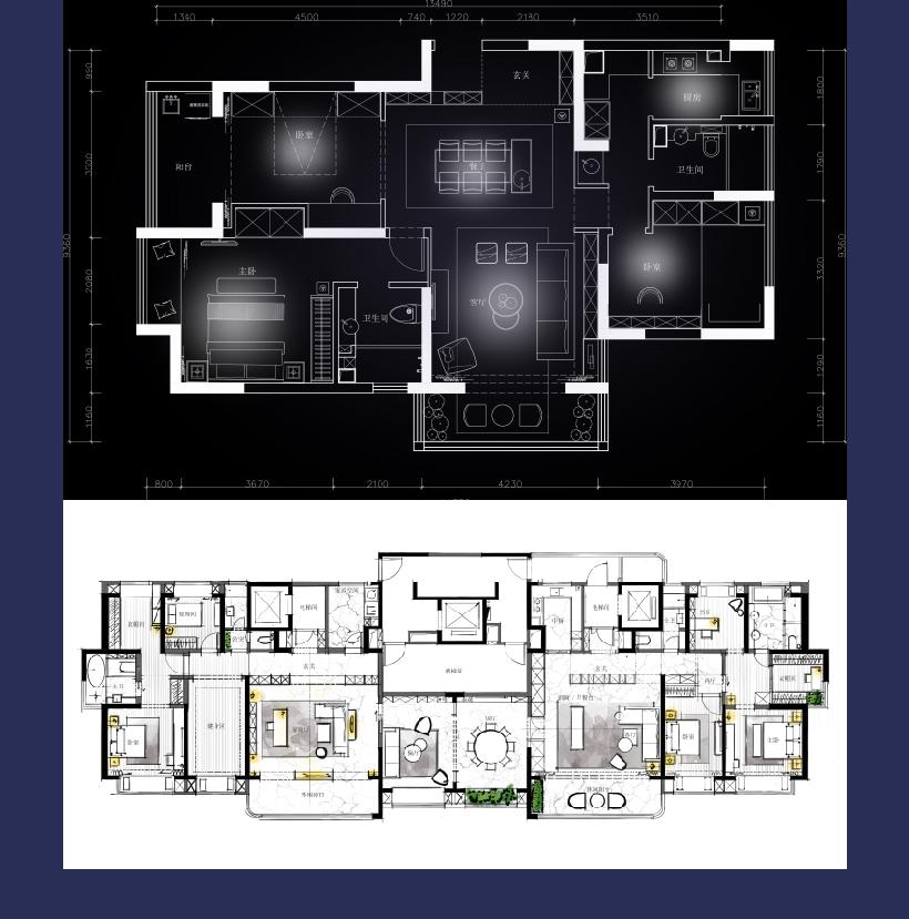 SKetchbook住宅平面优化教程