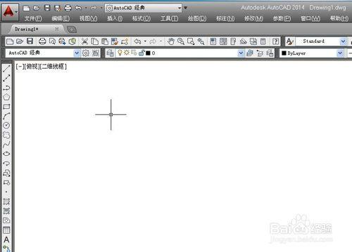 AUTO CAD 2014版怎么切换背景颜色