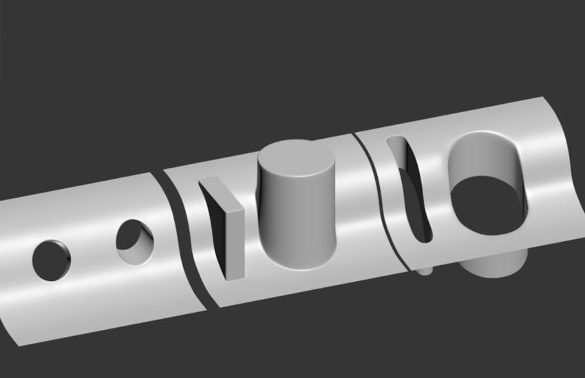 3Dmax曲面建模教程-如何快速在曲面开洞
