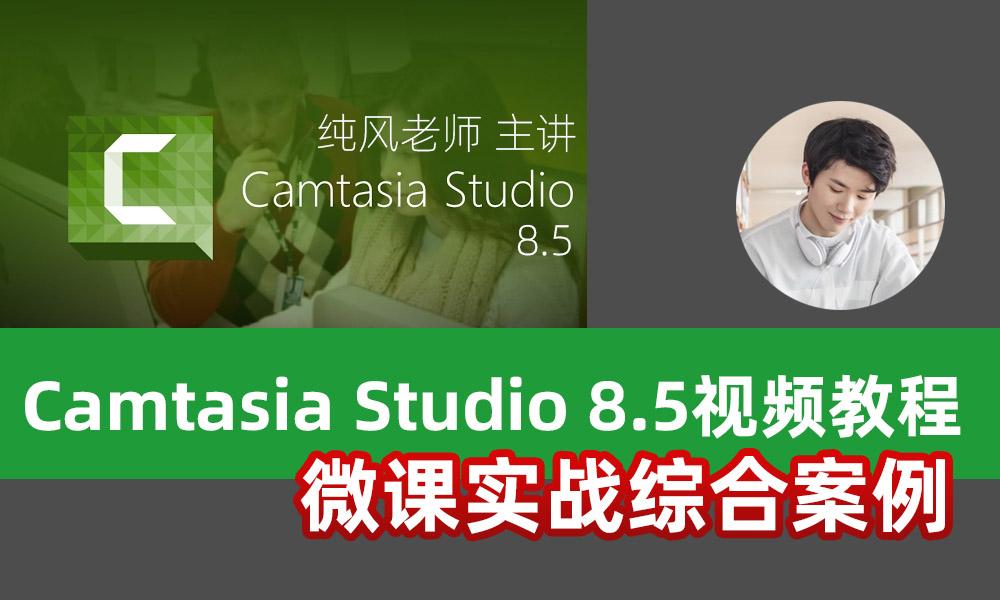 Camtasia Studio8.5视频<esred>教程</esred>